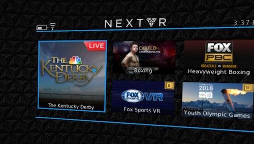NextVR Kentucky Derby Live Badge
