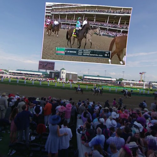 NextVR Live View Kentucky Derby