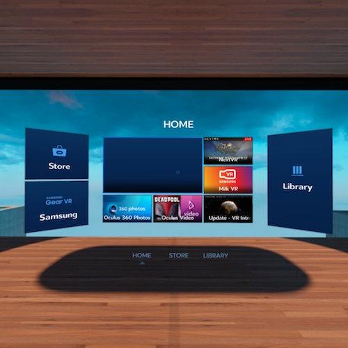 Samsung Gear VR Oculus Store