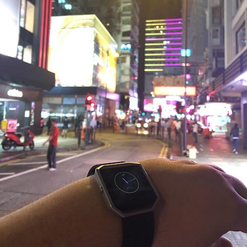 Fitbit BLAZE Hong Kong 10k Steps
