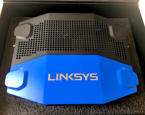 Linksys WRT3200ACM Router Unboxing