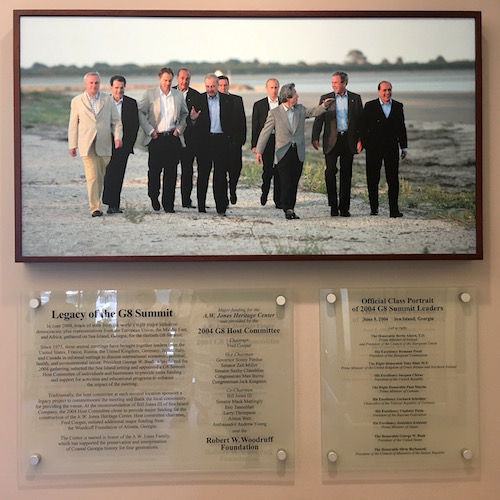 2004 G8 Summit Saint Simons Island