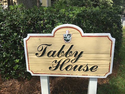 King and Prince Resort Tabby House Sign