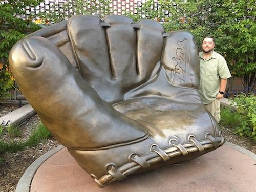 Minnesota Twins Golden Glove Chris Rauschnot