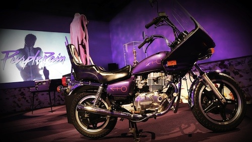 Purple Rain Motorcycle Paisley Park