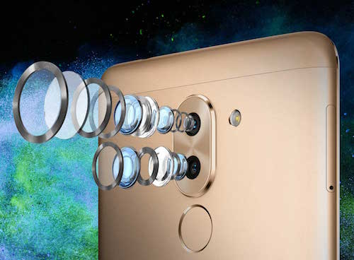 Huawei Honor 6X Dual Camera Lenses