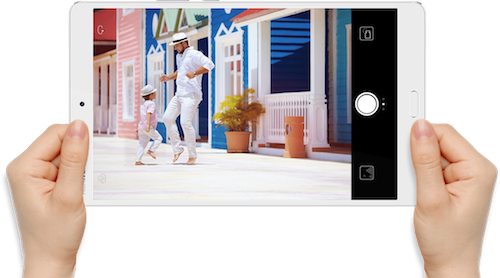 Huawei MediaPad M3 Camera