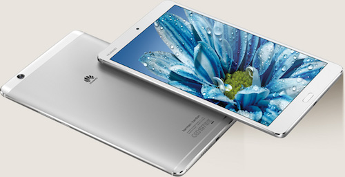 Huawei MediaPad M3 Front and Back