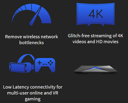 Netgear Nighthawk S8000 Optimized Video Streaming