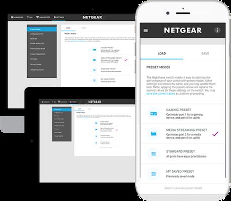 Netgear Nighthawk S8000 Web Dashboard