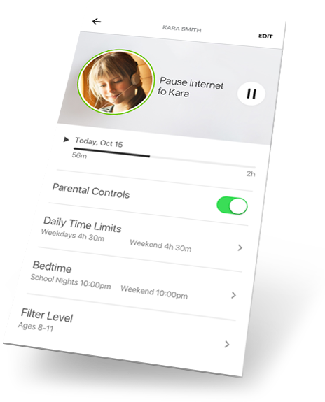 Norton Core App Parental Controls