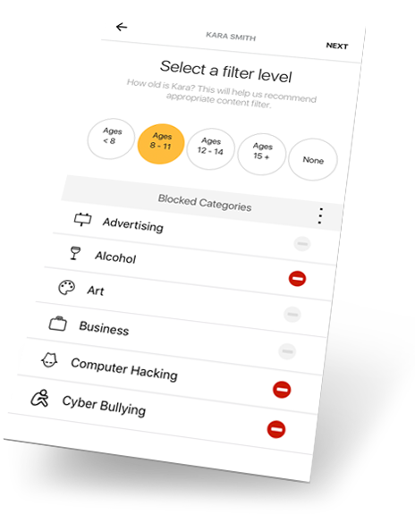 Norton Core App Parental Controls 2