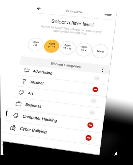 Norton Core App Parental Controls 2