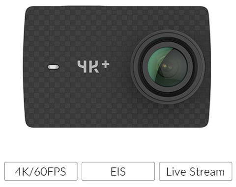 Yi Technology 4K+ Action Camera Review
