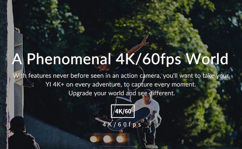 Yi Technology 4K+ Action Camera Quality