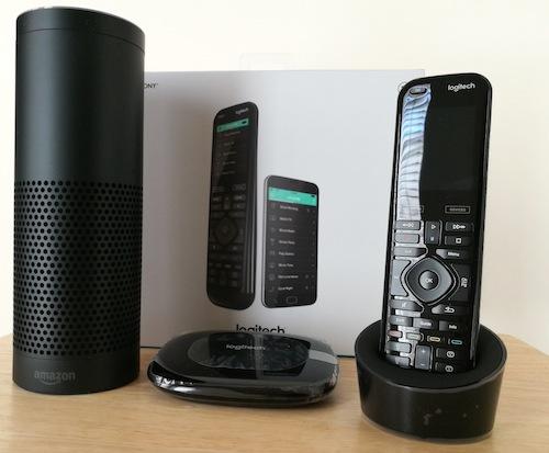Logitech Harmony Elite Alexa Echo Hub Remote
