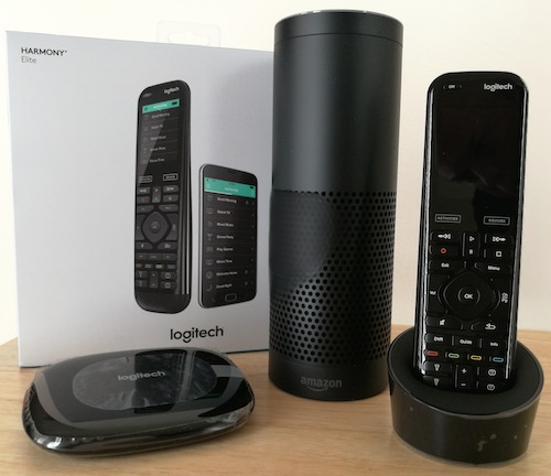 Logitech Harmony Elite Alexa Echo Remote Hub Review