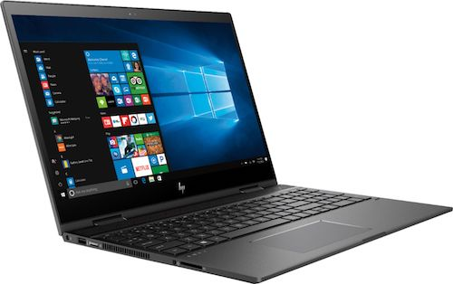 Best Buy HP Envy x360 Laptop Side View