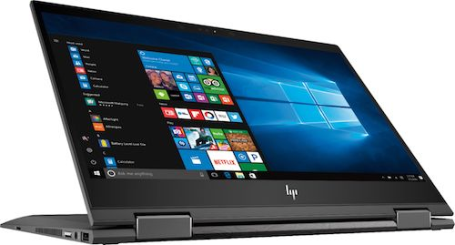 Hp Envy X360 2 In 1 Laptop Can Flip Fold With An Hd Touchscreen The Macintosh Wizard And Pc Tech Blog