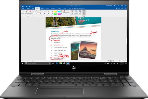 Best Buy HP Envy x360 Touchscreen