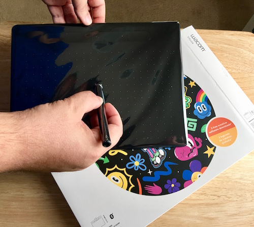 Wacom Intuos Tablet In Use