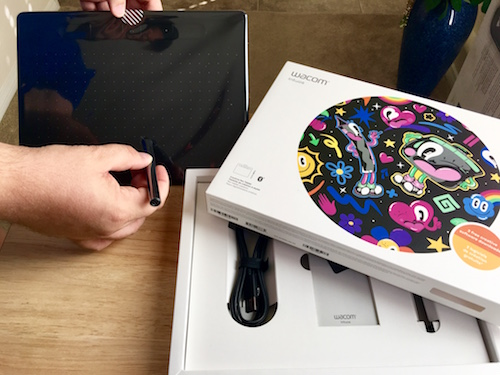 wacom intuos tablet unboxed best buy review