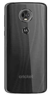 Moto e5 Supra Cricket Wireless Smartphone Back