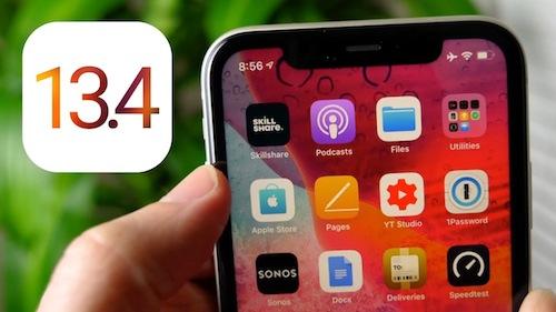 Apple iOS iPadOS 134