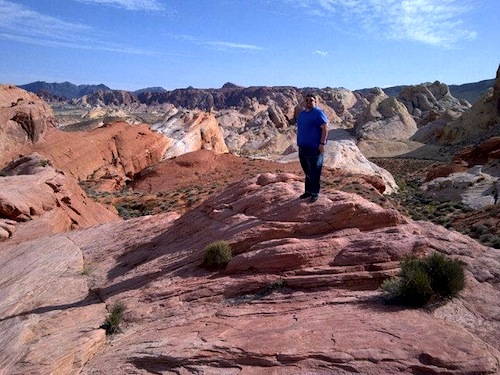 Valley of Fire Chris Rauschnot by VegasBiLL